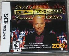 NEW Nintendo DS Deal or No Deal Special Edition TV Show Game Sealed Free Ship !