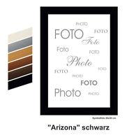 Bilderrahmen Posterrahmen Fotorahmen Mod. ARIZONA mit Echtglas / Rahmen aus MDF