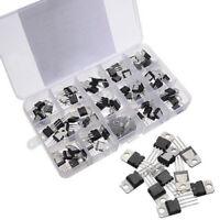 70Pcs 14 Values L7805-LM317 Voltage Regulator Transistor Assortment Kit Caps CS