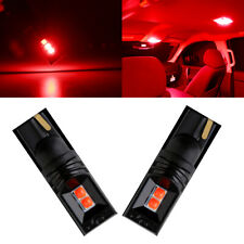 20Pcs Red T10 3030 W5W 4SMD 194 168 LED Car Side Wedge Interior Light Bulbs