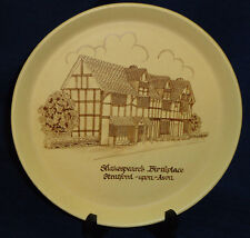 Shakespeare's Birthplace Stratford-upon-Avon souvenir Collector's Plate England