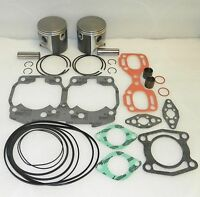 WSM Seadoo 800 Platinum Piston Top End Rebuild Kit PWC 010-818-10P OE 420888410