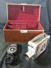 Bell & Howell 16mm Magazine Movie Camera W Case & Weston Master 2 Exposure Meter