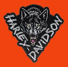 HARLEY DAVIDSON Lone Wolf  4.5 INCH  HARLEY PATCH