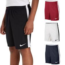 Nike Boys Shorts Dry Junior Football Training Pants Running Kids Size S M L XL