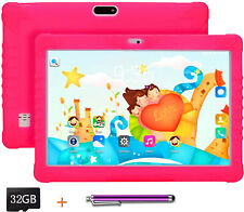 Kids Tablet PC 10.1 inch WiFi Bluetooth and Games 48GB Quad Core IPS HD