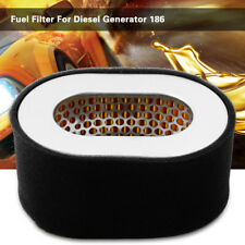 Stainless Steel Replacement Fuel Oil Air Filter F/ Diesel Generator Engine 186