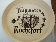 Plateau de service publicitaire pour la bière belge Trappistes de Rochefort