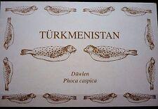 Turkmenistan 1993 WWF Naturschutz Kaspi-Ringelrobbe 30/35 MH postfrisch (D8926)