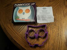 Genuine Fred Funnyside Up Egg Corral Silicone Kitchen Tool w/ Original Box