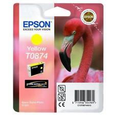 Epson T0874 Flamant rose Cartouche d'encre Jaune