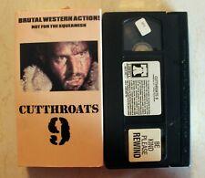 VHS: Cutthroats 9 (Cut Throats Nine)