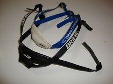 LaCrosse helmet chin straps Cascade Brine USED Black & Blue/White