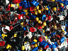 ☀LEGO 50 Pieces Random Mix Accessories Hair Tools Weapons Hats Visors Legs Heads