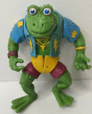 Vintage 1989 Playmates Toys TMNT Genghis Frog Action Figure Toy