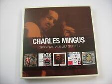 CHARLIE MINGUS - ORIGINAL ALBUM SERIES - 5CD BOXSET NEW SEALED 2011