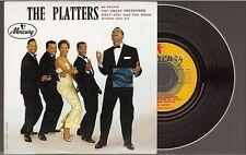 THE PLATTERS my prayer - the great pretender CD SINGLE EP numéroté NO VINYL