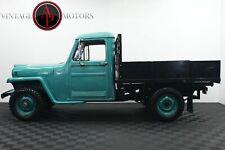 1959 Willys Truck 4X4 I6 Super Hurricane! Frame Off!