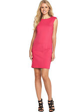 Definitions Size 20 Pink Simply Fab Shoulder Pad Pencil DRESS Party Be Chic New