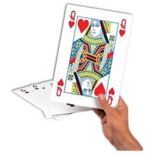 Juegos de cartas de color principal blanco