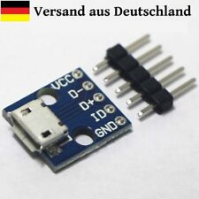 Female Micro USB Type B SMD to DIP 5Pin Pinboard 2.54mm arduino pi L0008