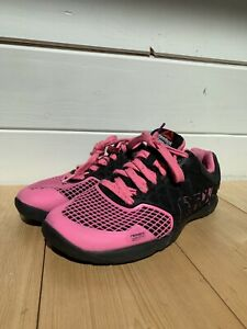 Reebok CrossFit Nano 4.0 Training Athletic Gym Shoe Pink Black Women's Size 5.5