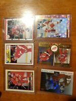 Steve yzerman lot of cards 6 with case