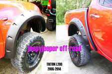 Jungle Off-Road 4x4 Mitsubishi L200 Triton ML MN FENDER FLARES FLARE WHEEL ARCH