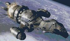 Firefly Ship Serenity Sci-Fi DIGITAL Counted Cross-Stitch Pattern Needlepoint