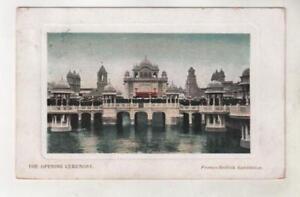 FRANCO BRITISH EXHIBITION, LONDON - OPENING CEREMONY Postcard *