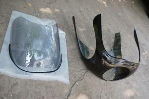 Cafe racer front fairing with windscreen rickman style imola half fairing