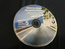 2000 01 2002 BMW 330 325 M5 X5 M3 NAVIGATION MAP DISC CD 5 MIDWEST OHIO VALLEY