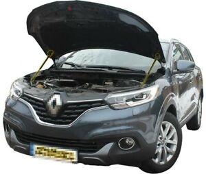 Fit Renault Kadjar 2015- Bonnet Strut Gas Lift Hood Damper Kit x2 Supports