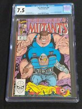 NEW MUTANTS 88 CGC 7.5 WHITE PAGES 2ND APPEARANCE CABLE X-FACTOR MARVEL COMICS