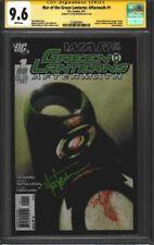 War of the Green Lanterns: Aftermath #1 CGC 9.6 Signature Series
