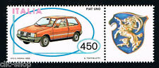 ITALIA UN FRANCOBOLLO MACCHINA FIAT UNO AUTO APP. 1985 nuovo**