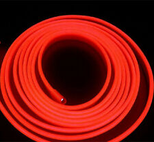 2M Red Auto Interior Decoration Atmosphere Lamp Cold Light Strip For Ford GMC