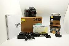 In BOX : Reflex FX Nikon Full Frame D610 + Nikkor 50mm AF 1.8D + Wifi WU-1A