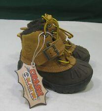 NEW Timberland Toddler BROWN Mallard Winter waterproof Boots 42881 m  4 C
