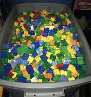 HUGE LEGO DUPLO Lot 50 Pounds Pieces Bricks With Figures Animals Vehicles