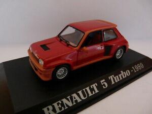 RE22 Voiture 1/43 M6 Universal Hobbies RENAULT 5 Turbo