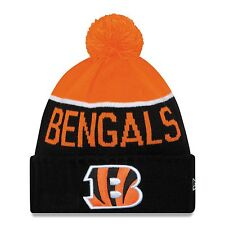 Cincinnati Bengals New Era NFL Official On-Field Sideline Pom Knit Winter  Hat 830eb538e