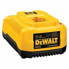 DEWALT XRP 7.2V - 18V LITHIUM ION & Ni-Cd DC9096 BATTERY CHARGER DC9310 240 volt