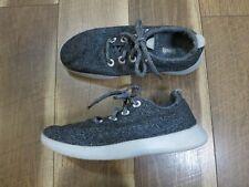 Allbirds Women's Gray Merino Wool Lace Up Running Shoes Sz 9 EU 39