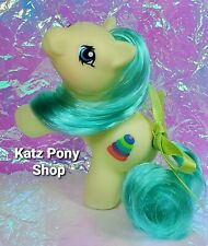 HQG1C Custom G1 MLP Style Playful Baby Pony 💜 TIPPER 💜 w Accessories! YELLOW