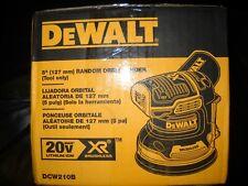 "Dewalt DCW210B 20V Max XR Brushless 5"" Lijadora Orbital Inalámbrico vs Nuevo"
