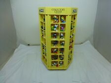 """Smurfs 21""""x12""""x12"""" Collector's Center with 84 Smurfs - Sold As Pictured - Read"""