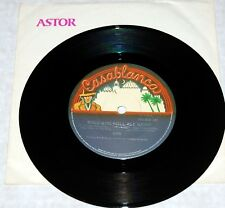 """KISS vintage band 7"""" 45 Rock And Roll All Nite Live Astor Aussie Record Aucoin"""