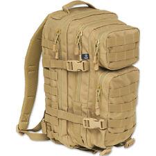 BRANDIT US MILITARY PATROL COMBAT COOPER RUCKSACK ARMY WEBBING BACKPACK CAMEL
