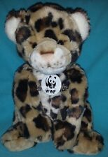 Build A Bear WWF Cheetah Leopard Brown Spotted Plush STUFFED ANIMAL 13""
